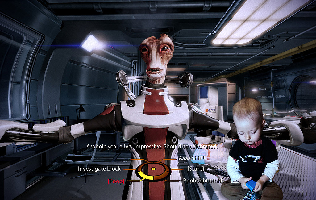 He Saved the Galaxy in Mass Effect