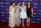 On Monday, Lena Dunham joined the cast of Girls to premiere their third season at Lincoln Center in NYC.