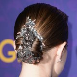 Allison Williams' Stunning Hair Piece at GIRLS NYC Premiere