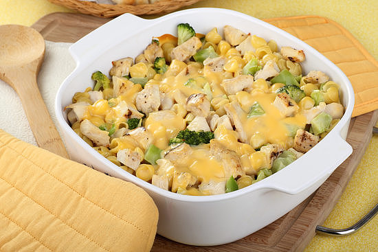 Chicken and Broccoli Cheddar Casserole