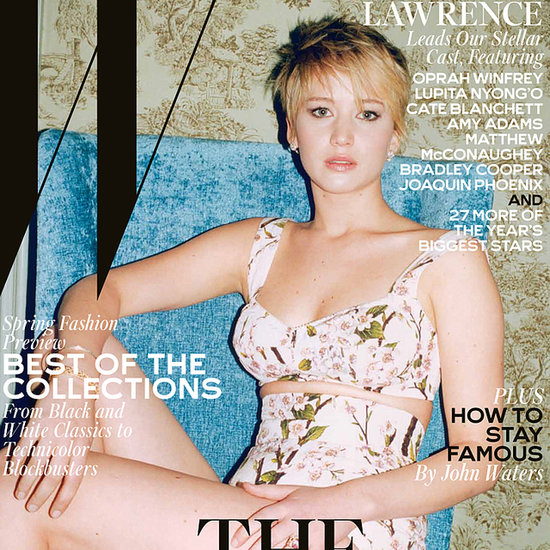 Jennifer Lawrence On The Cover Of W Magazine