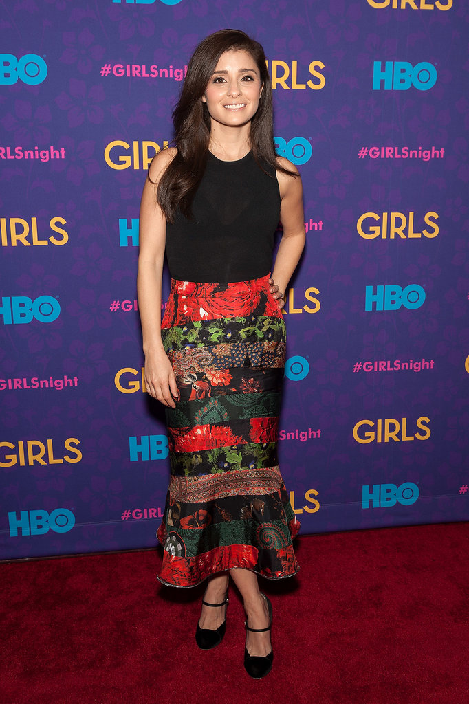Recurring star Shiri Appleby lit up the red carpet.