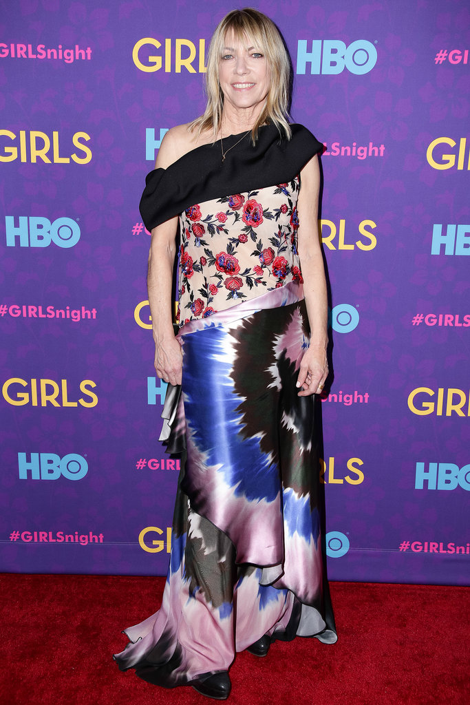 Kim Gordon at the Girls premiere.