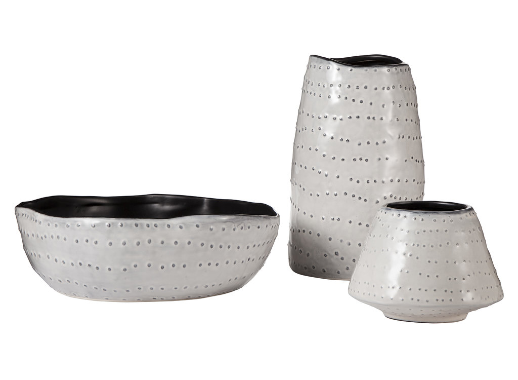 These Earthenware Handcrafted Pottery Vases ($10-$20 each) only look expensive.