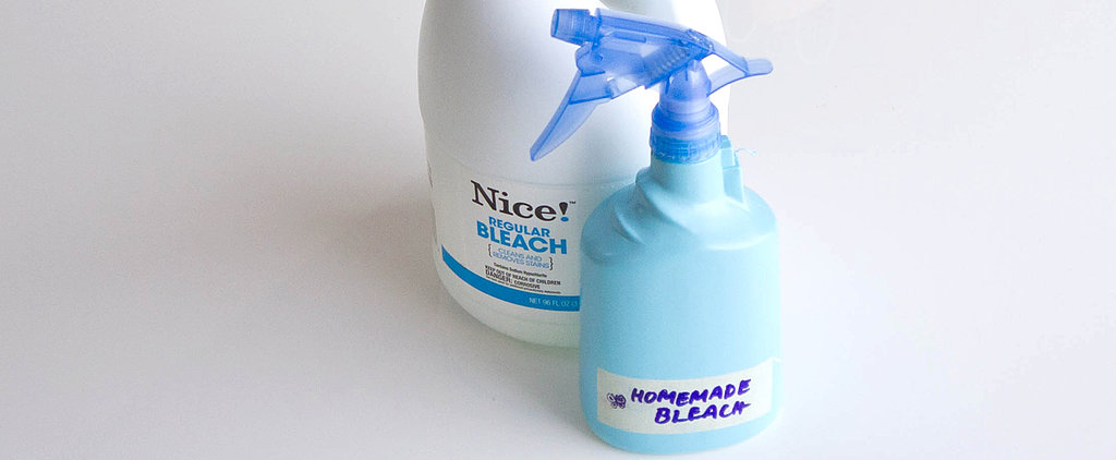 Homemade Bleach vs. the Real Deal