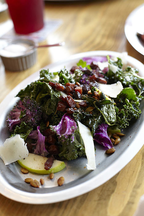 Three Kale Salad, Woodshed Smokehouse, Forth Worth, TX