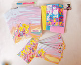 Give a nostalgic hello to a childhood friend with this vintage Lisa Frank stationery set ($18).
