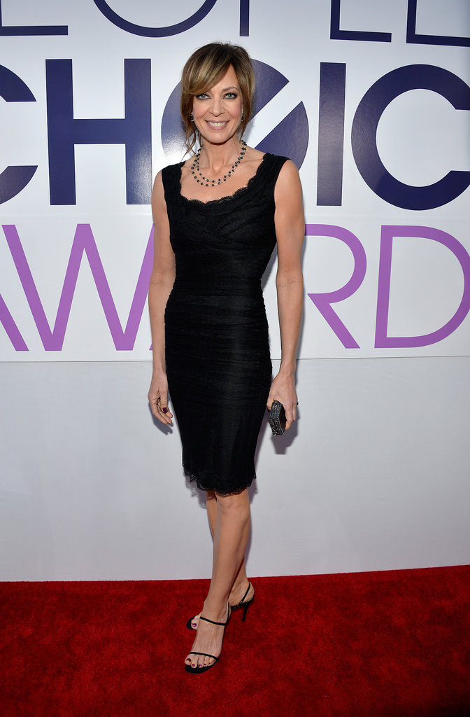 Allison Janney looked amazing in black.