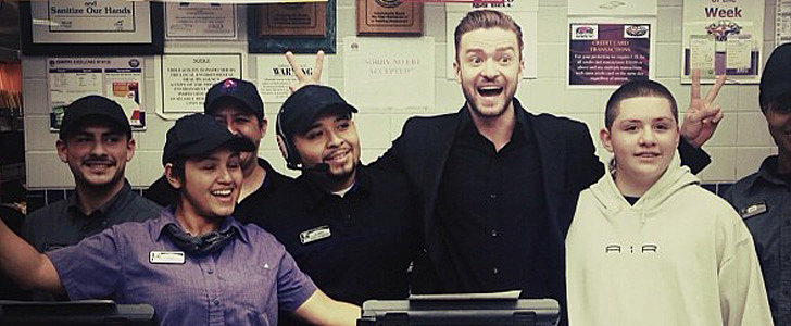 After the PCAs, Justin Timberlake Made a Run For the Border