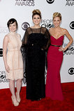 Ashley Rickards, Molly Tarlov, and Desi Lydic