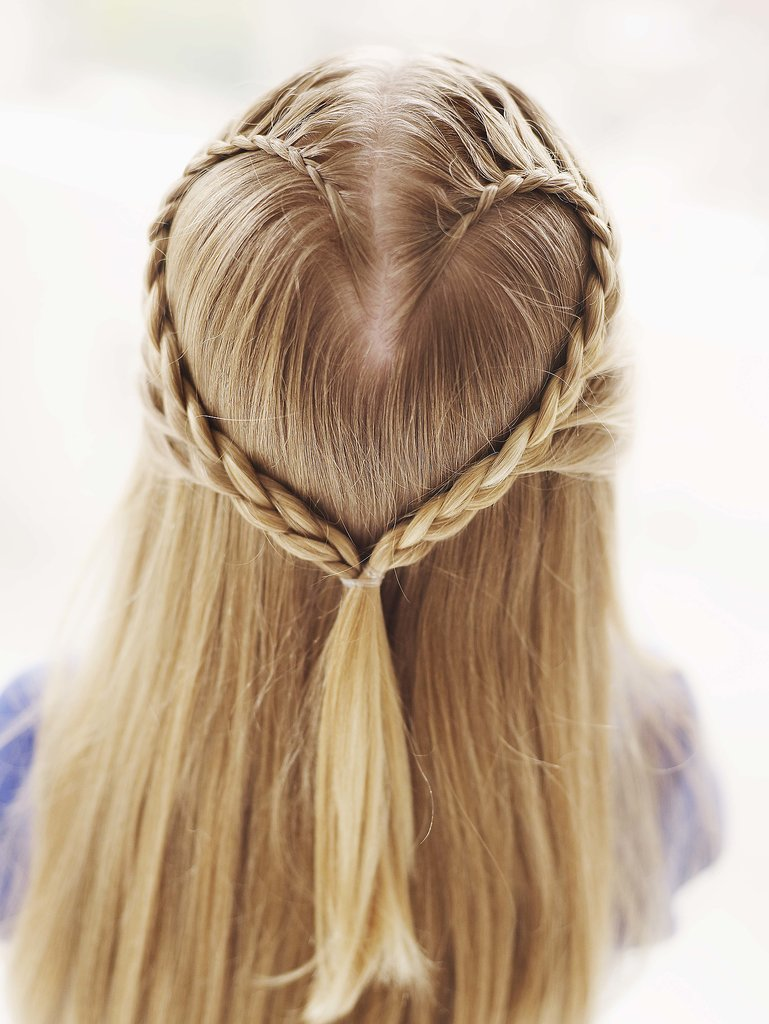 Lace Braid Heart
