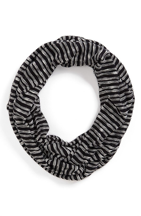 Splendid Striped Infinity Scarf