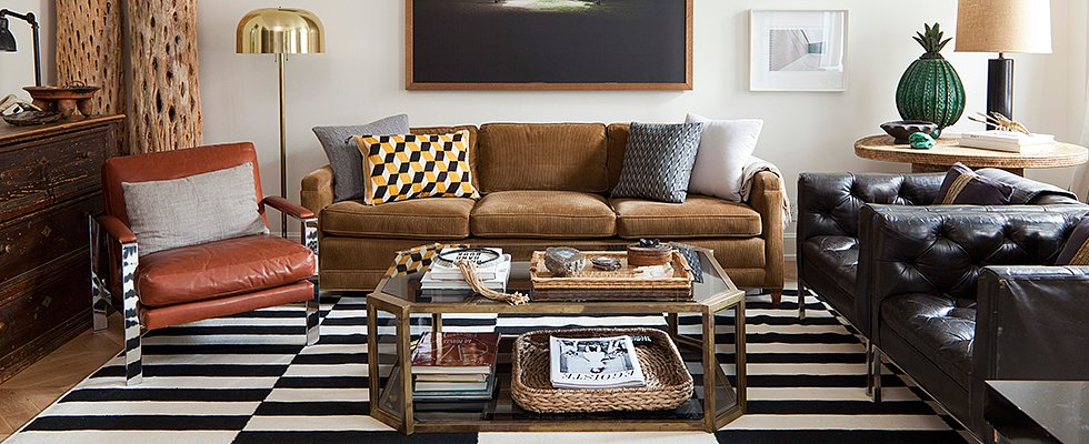 Meet Your Match! 5 Coffee Tables and Rugs That Love Them