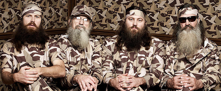 What the Duck Dynasty Guys Looked Like Before the Show