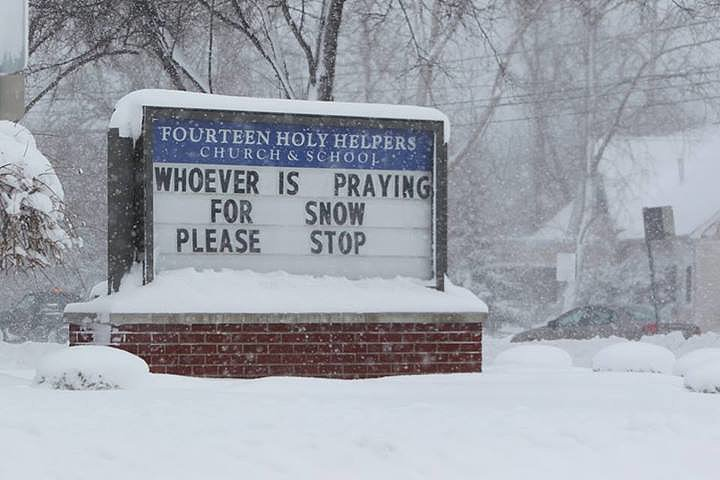 Snow Prayers