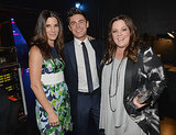 Sandra Bullock, Zac Efron, and Melissa McCarthy had a memorable moment backstage at the People's Choice Awards in LA.