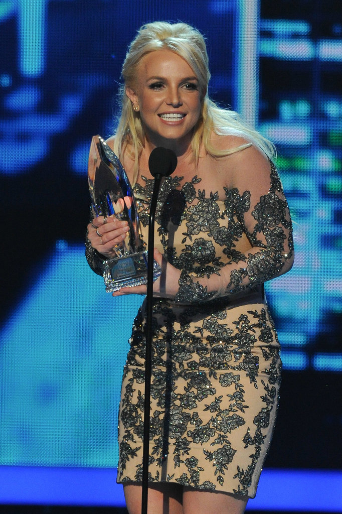 Britney Spears made a rare award show appearance at the People's Choice Awards in LA on Wednesday night.