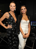 She took a stunning snap with Jessica Alba.