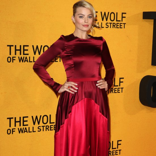 Margot Robbie Red Dress