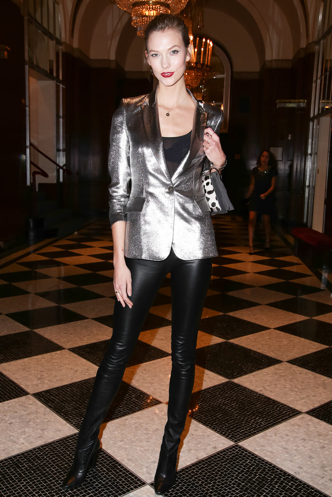 Karlie Kloss at the YMA Fashion Scholarship Fund Awards.