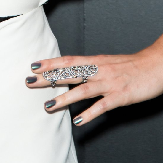 Grey Nail Polish Is On Trend Right Now