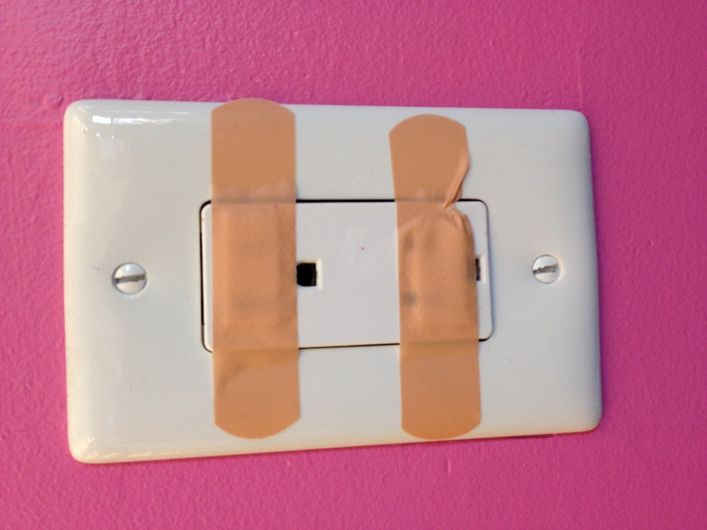 DIY Outlet Cover