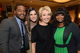 Ryan Coogler, Sandra Bullock, Emma Thompson, and Octavia Spencer took a happy group snap at Friday's AFI Awards lunch.