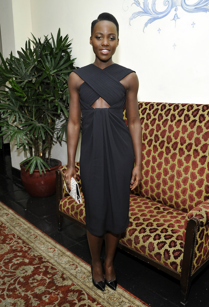 Lupita Nyong'o brought serious glamour to the party.