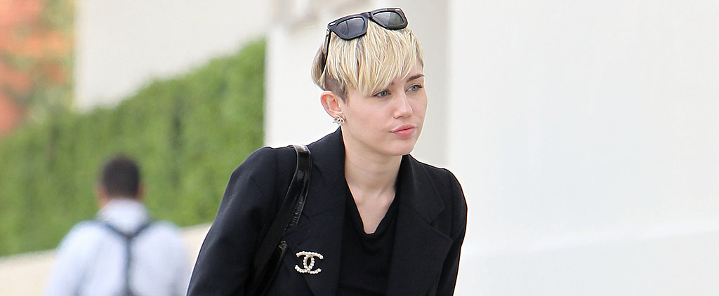 Miley Is the World's Most Fashionable Bag Lady