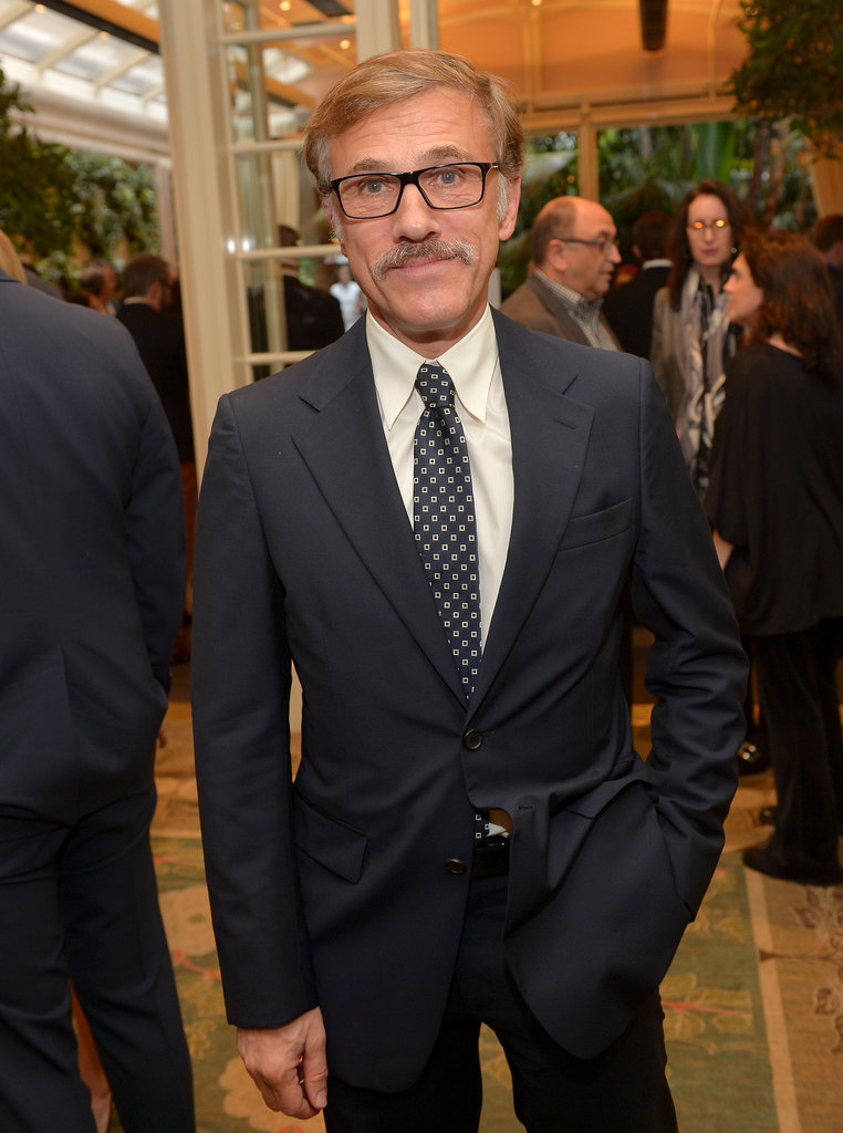 Christoph Waltz suited up.