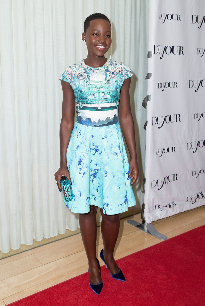 Lupita Nyong'o at the DuJour Party