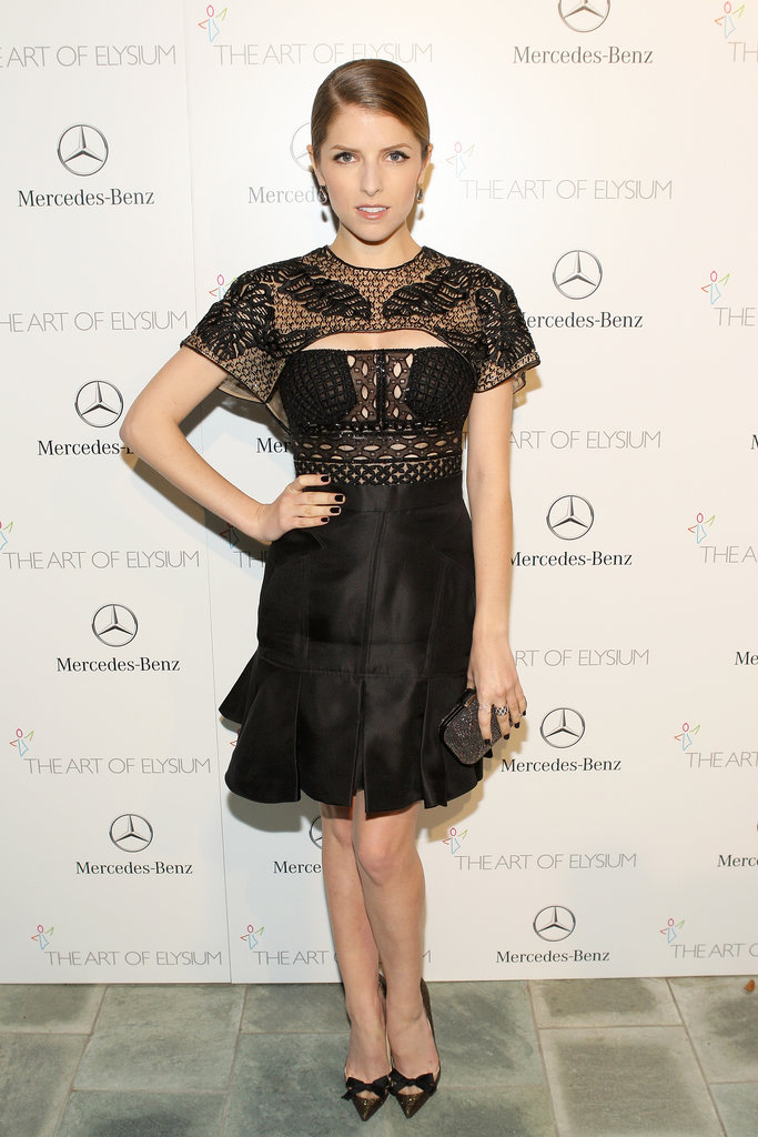 Anna Kendrick at the Art of Elysium Heaven Gala 2014
