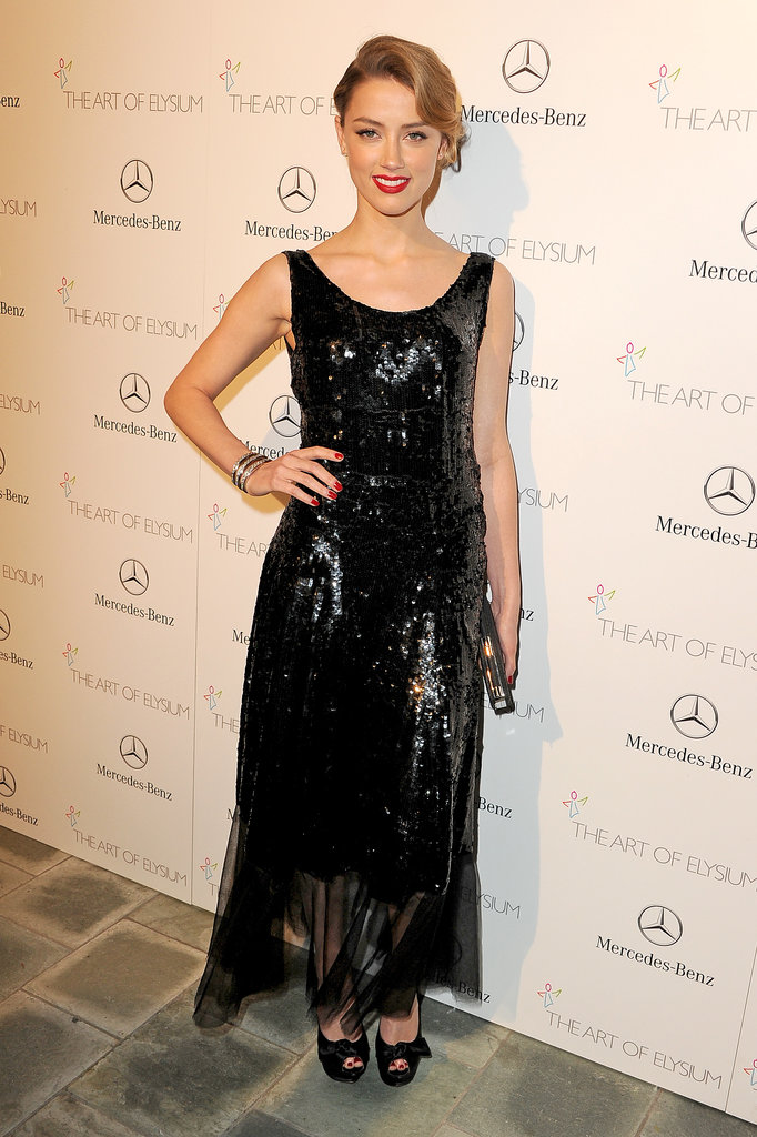 Amber Heard at the Art of Elysium Heaven Gala 2014