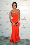 Nina Dobrev at the Art of Elysium Heaven Gala 2014