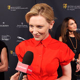 Cate Blanchett Interview 2014 BAFTA Tea (video)