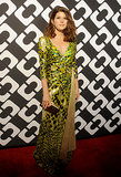 Marisa Tomei wore a green number.