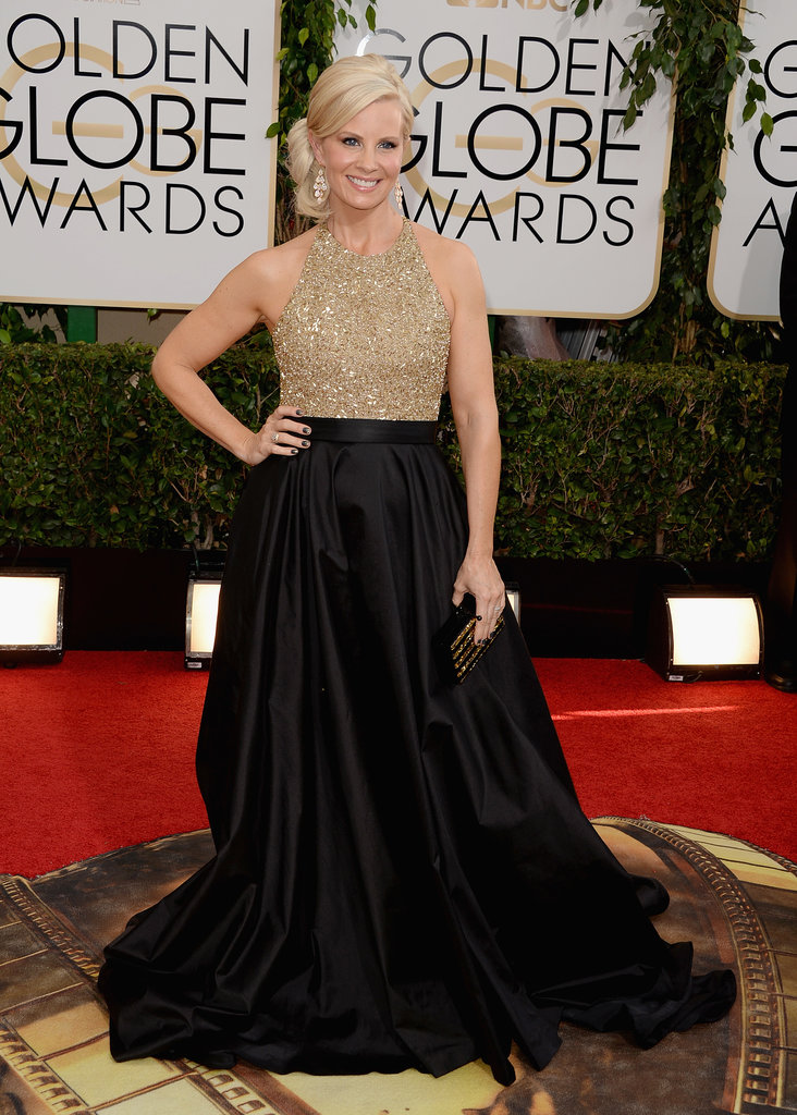 Parenthood star Monica Potter wore a Romona Keveza gown.