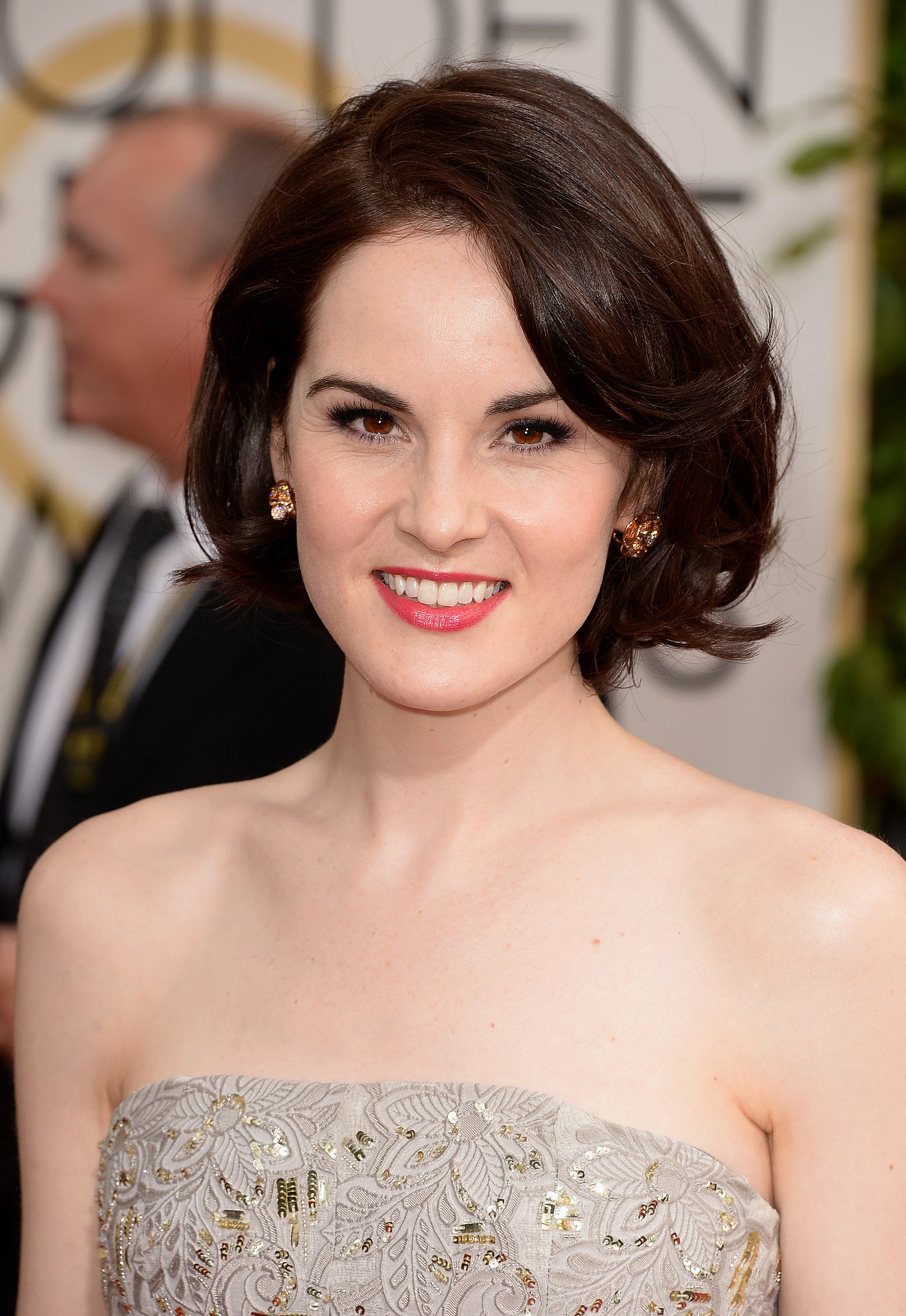 Michelle Dockery made a serious case for the bob.