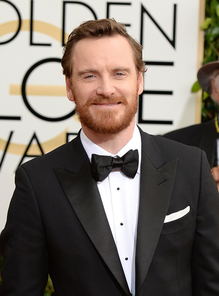 Looks Like Michael Fassbender Made a Friend at the Golden Globes