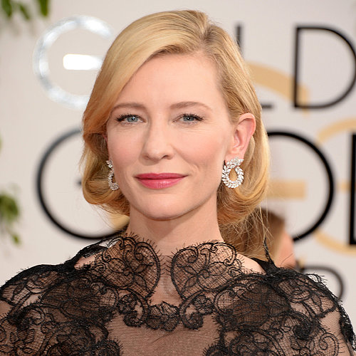 Cate Blanchett's Hair and Makeup at Golden Globes 2014