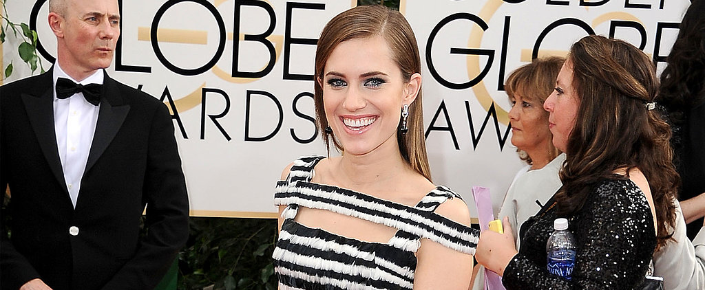 Poll: Allison Williams Goes Black and White but Hardly Boring