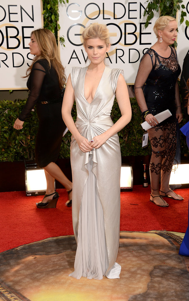 Kate Mara at the Golden Globes 2014
