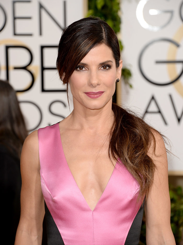 Sandra Bullock Goes Bold and Bright