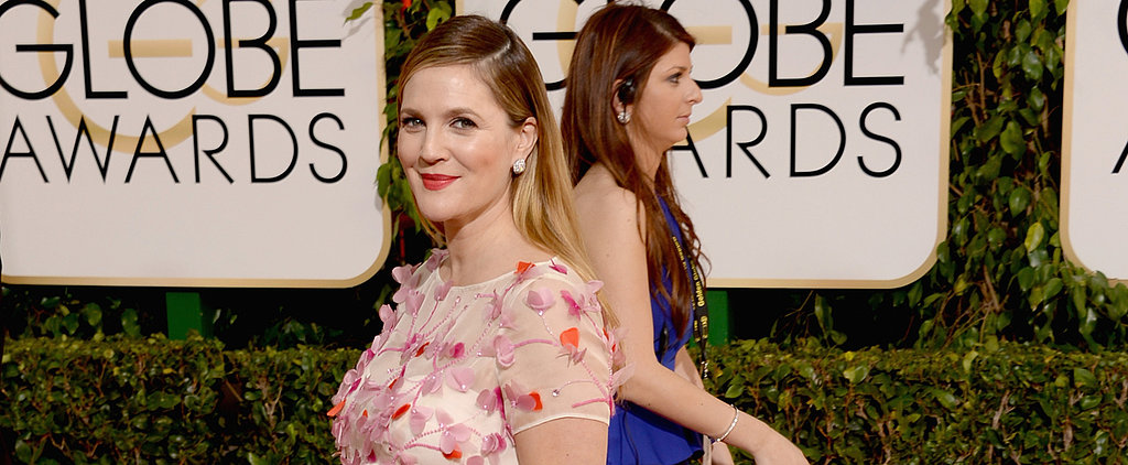Do You Hope Drew Barrymore's Bright Orange Pout Is Here to Stay?