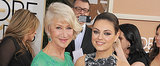 Mila Kunis and Helen Mirren Are Pretty Pals