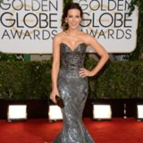Kate Beckinsale Dress on Golden Globes 2014 Red Carpet