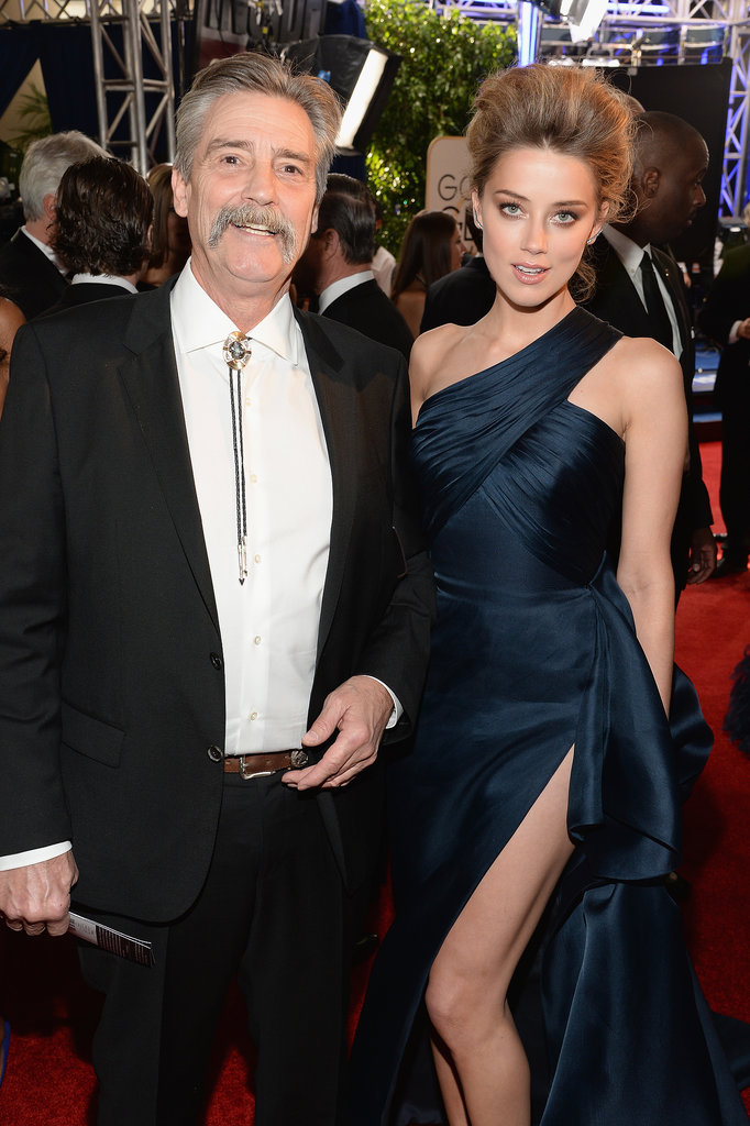 Amber Heard Got Sexy . . . Alongside Her Dad, David.