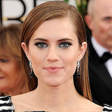 Allison Williams From GIRLS at the 2014 Golden Globes