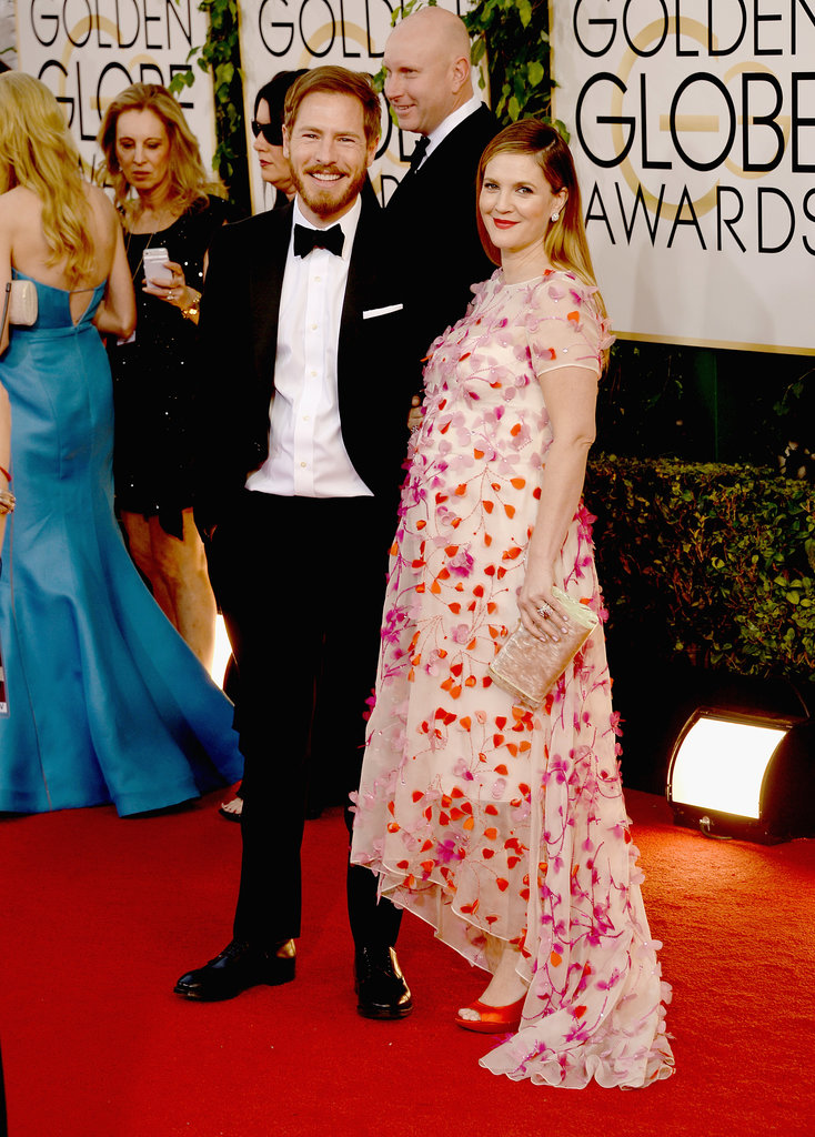 Drew Barrymore and Will Kopelman coupled up for the cameras.