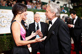 Sandra Bullock Got Animated With Michael Douglas